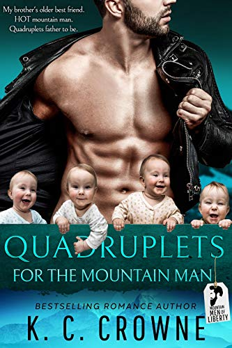 Featured Post: Quadruplets for the Mountain Man by KC Crown