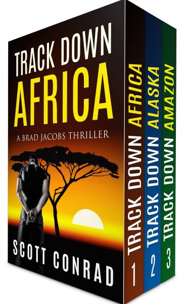 Featured Post: Track Down Box Set: Books 1-3 (Brad Jacobs Thriller Series) by Scott Conrad