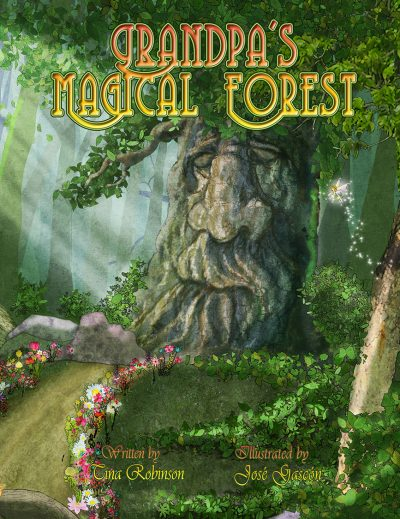 grandpas magical forest book cover