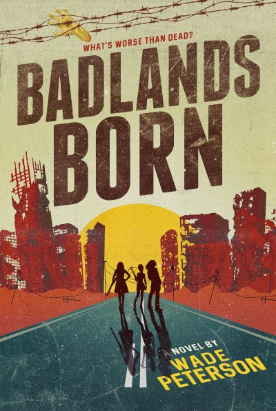 Badlands Born fantasy book cover