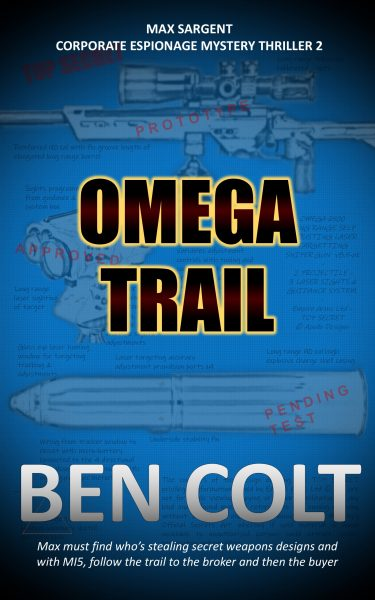 Omega Trail book cover