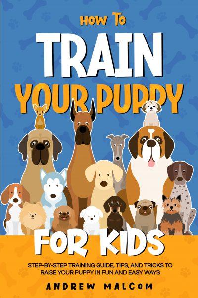 train puppy book cover