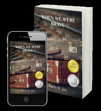 we were brave book cover