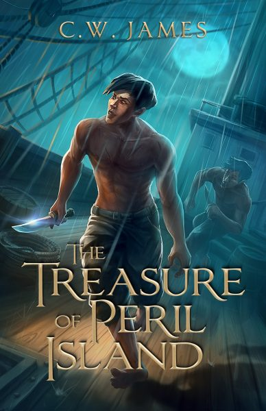 Featured Post: The Treasure of Peril Island by C.W. James
