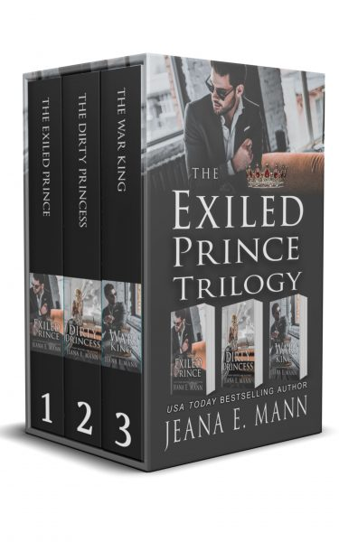 Featured Post: The Exiled Prince Trilogy by Jeana E. Mann
